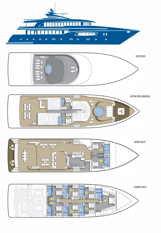 deck plan blue force one