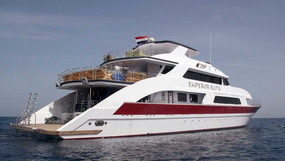 Emperor Elite liveaboard Red Sea Egypt