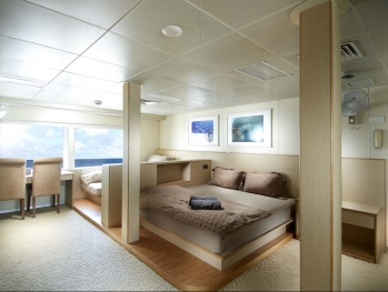 stateroom cabin on board liveaboard indoneisa