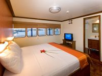 double bed deluxe cabin