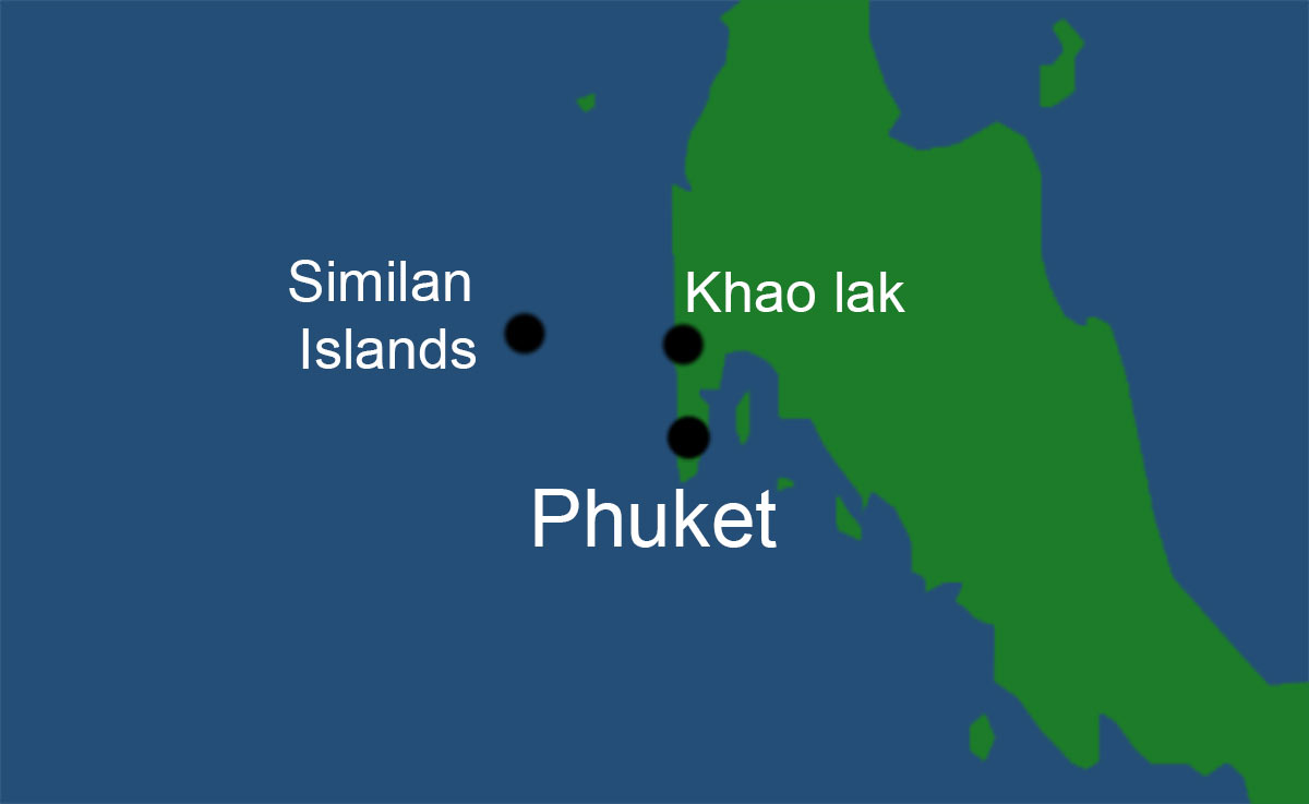 phuket airport to khaolak