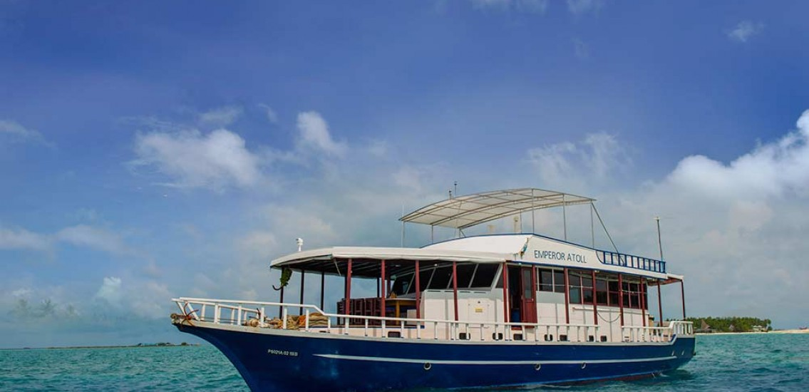 Emperor Atoll diving liveaboard