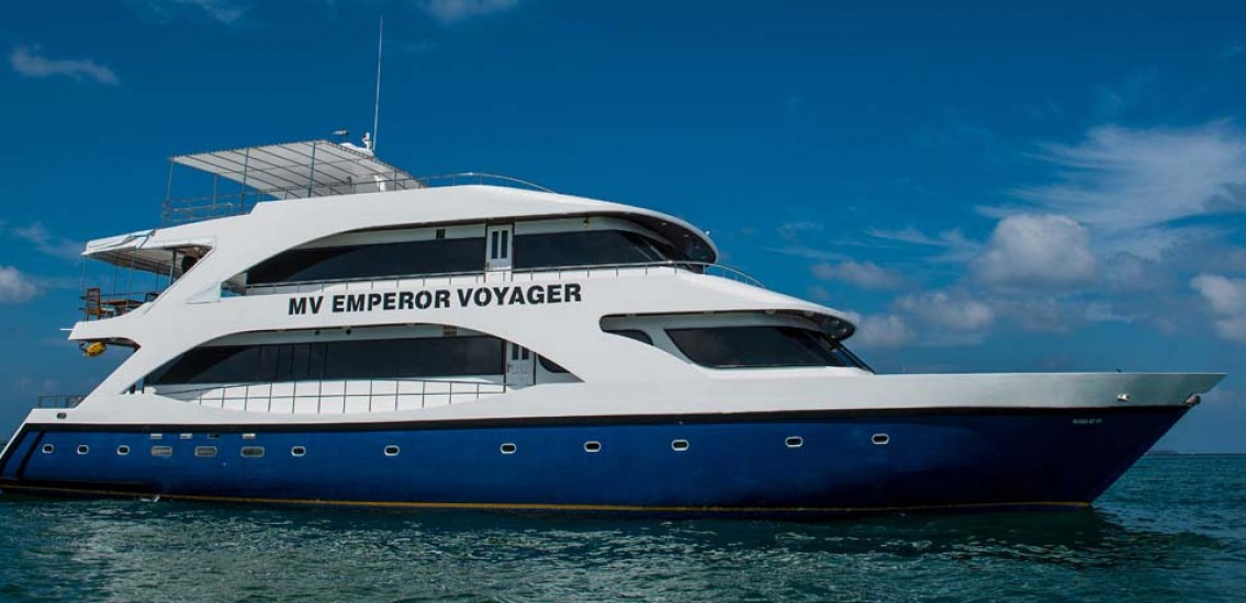 Emperor Voyager Liveaboard diving Maldives