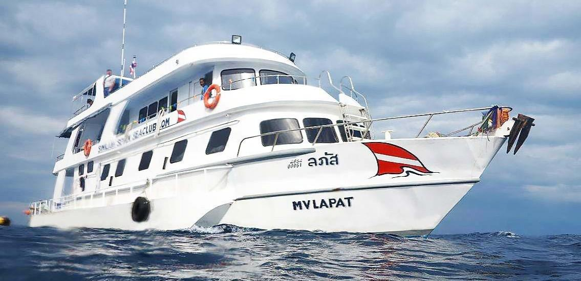 Lapat Thailabd Liveaboard Similan Islands Diving