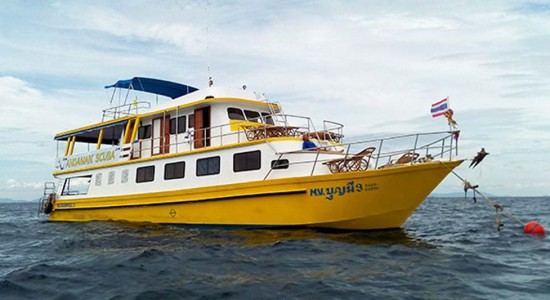 Bunmee Liveaboard diving Similan & Myanmar Burma