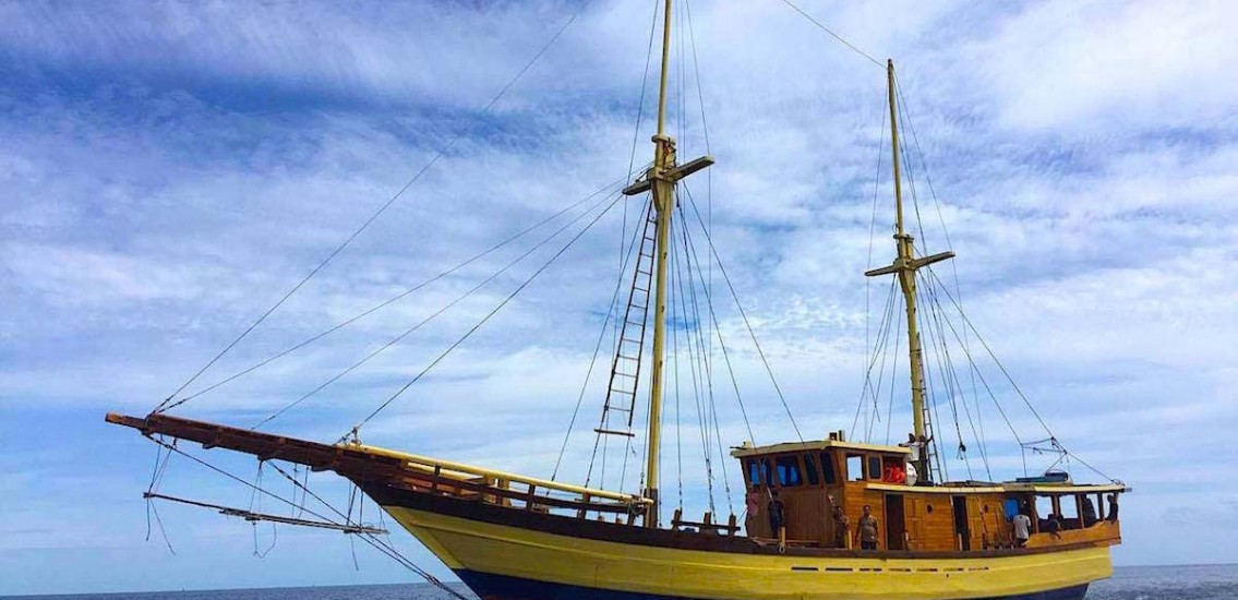 Davy Jones liveaboard komodo dive boat