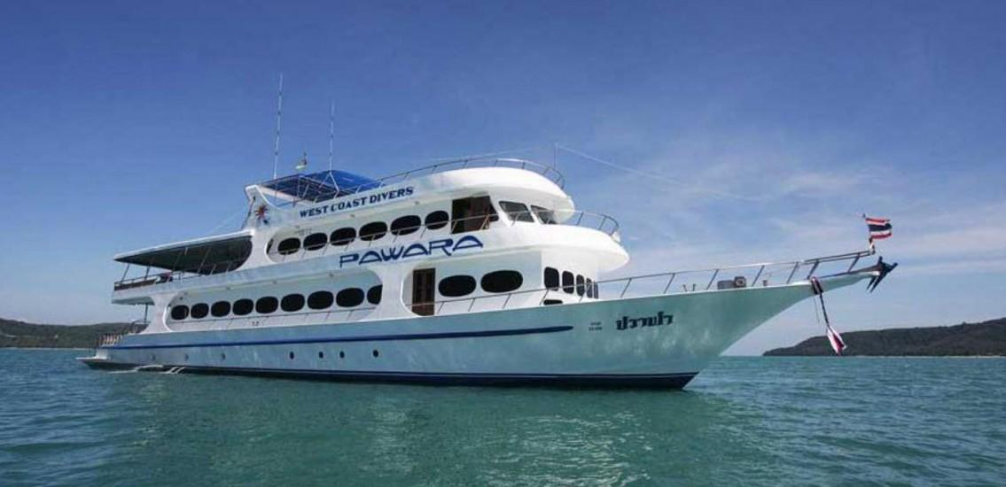 Pawara liveaboard diving boat