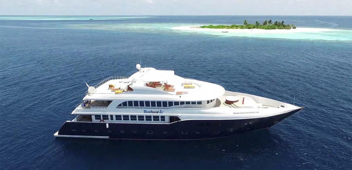 Blue Force One Liveaboard Diving Maldives