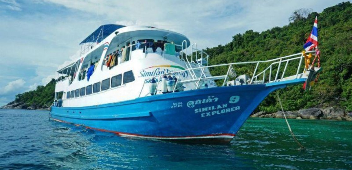 Similan Explorer Liveaboard diving