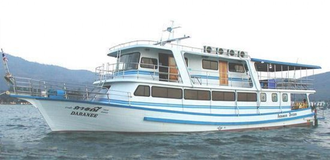 Daranee liveaboard Dive Boat Sailing From Phuket to Similans