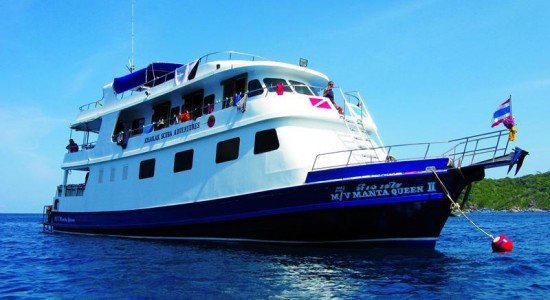 Manta Queen 2 Similan Diving Liveaboard Boat