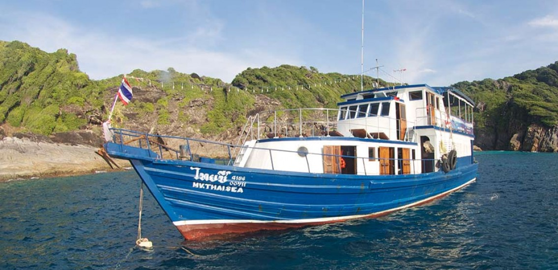 Thai Sea Liveaboard dive boat