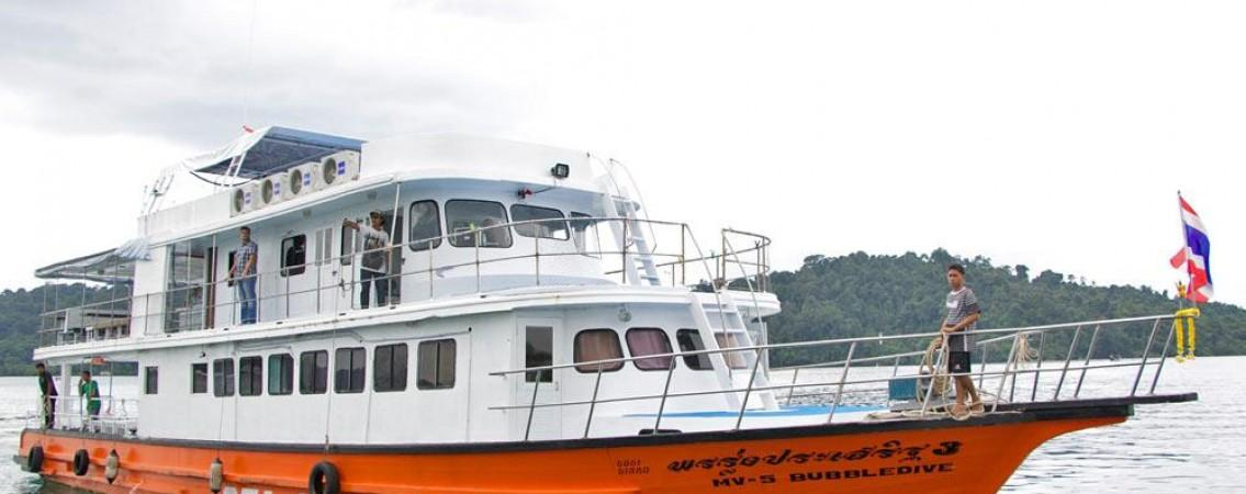 Flexible Schedule Sea Heaven dive boat